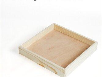 ベーカリーウッドボックス Sサイズ 木箱 トレイ ブレッド パンの画像