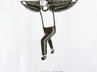 私は飛ぶことができます。【Tシャツ】の画像