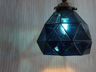 今宵、プラネタリウムで。(青のペンダントランプ1)の画像