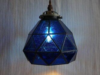 今宵、プラネタリウムで。(青のペンダントランプ2)の画像