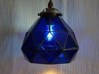 今宵、プラネタリウムで。(青のペンダントランプ3)の画像