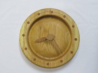 キハダの掛時計の画像