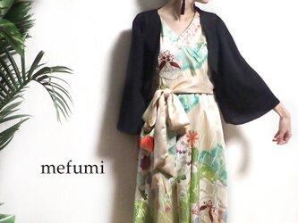 ✳︎1点物 ✳︎ アンティーク  着物リメイク  パーティーボレロ の画像