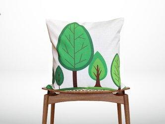 森のクッション Various treesの画像