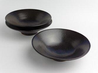 黒釉 浅鉢の画像