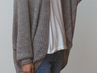 【NEW】CA knit  レインボー wool90 cotton10の画像