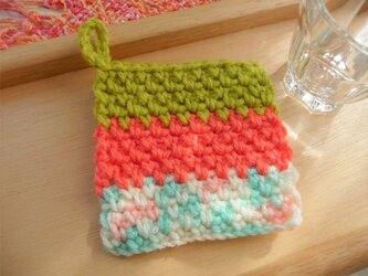 かぎ針編みのコースター (5)の画像