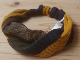 【NEW】あたまき ひねり wool70 cotton30の画像