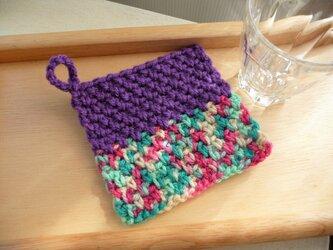 かぎ針編みのコースター (6)の画像