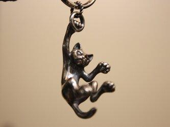 猫のキーホルダーの画像