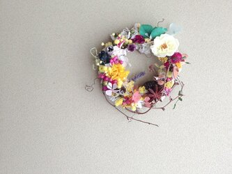 wreath-colorful Sの画像