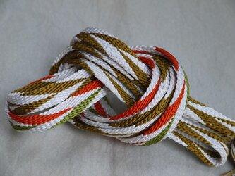 手組み正絹組紐【笹浪(4色)】113A018005の画像