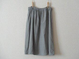 リネンのペチコート 灰色 の画像