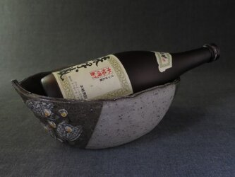 陶器 ワインクーラー(22) 陶芸家オリジナルの画像