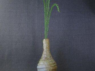 【送料無料】花器(63) しのぎ花器 陶芸家オリジナル陶器の画像