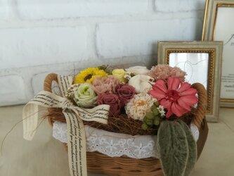 【送料無料】colorful  basketの画像