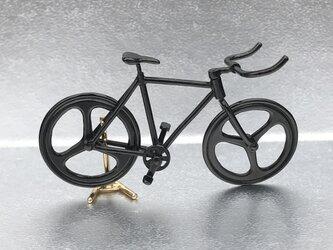 自転車ペンダント ブルホーンハンドル - Blackの画像