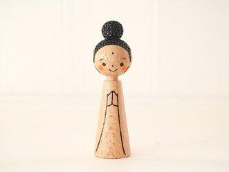[conocokeshi]阿弥陀様*指人形・hand puppet[7]の画像