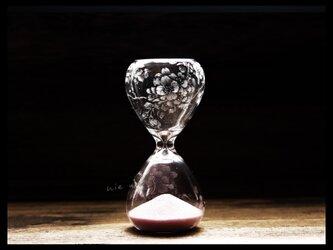 【受注制作】砂時計*s--桜の画像