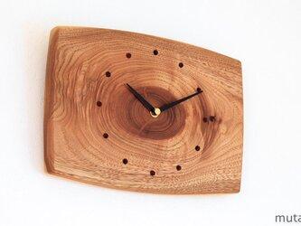 クルミの壁掛け時計 14の画像