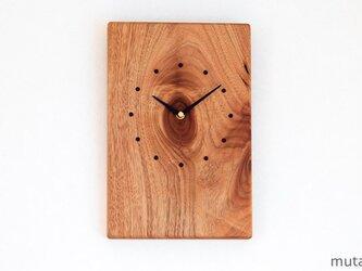 クルミの壁掛け時計 15の画像