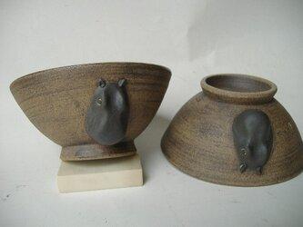 カバのお茶碗の画像