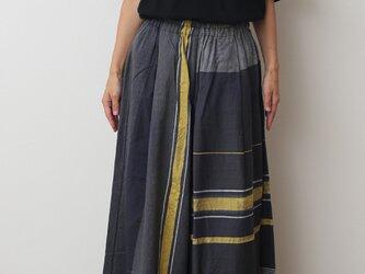 wide pants LONG COTTONの画像