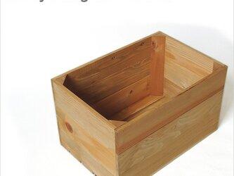 *リサイクルウッドボックス* アンティーク ビンテージの画像
