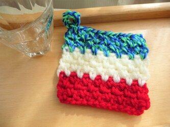 かぎ針編みのコースター (2)の画像