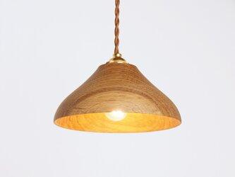 木製 ペンダントランプ 天井照明 楢材12の画像