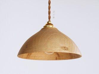 木製 ペンダントランプ 楢材5の画像