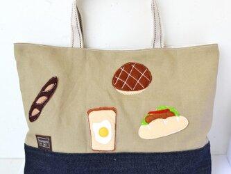 美味しいな色々パンのレッスンバッグ♪の画像