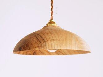 木製 ペンダントランプ 楠(クス)材6の画像