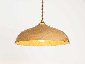 木製 ペンダントランプ 楠(クス)材10の画像