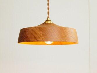 木製 ペンダントランプ 欅(ケヤキ)材5の画像