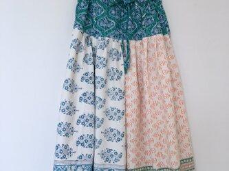 Jaipur パッチワークロングスカートの画像