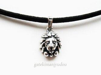 ライオンのチョーカー【長さ変更可】の画像