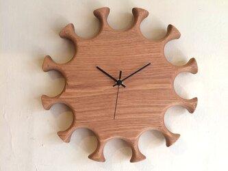 掛け時計 hana <受注製作品>の画像