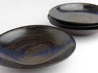 鉄釉 万能中皿の画像