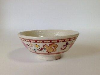 ざおうの森シリーズ ごはん茶碗 リス・馬・うさぎの画像