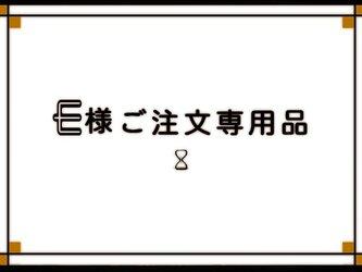 【E様ご予約専用品】の画像
