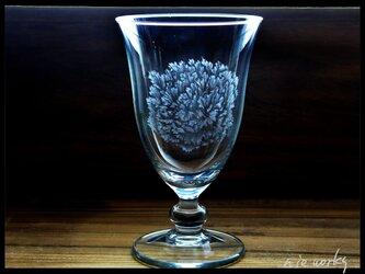 グラス--カーネーションの画像
