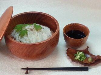 小粋な吉野杉夏のおもてなしセットの画像