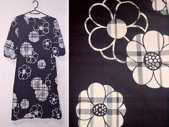 Sold Out浴衣リメイク♪大きな花柄が可愛い浴衣ワンピース♪ハンドメイド♪浴衣ワンピースの画像