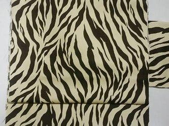 リバーシブル 京袋帯 「サバンナ」の画像