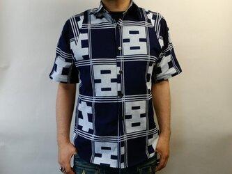 半袖浴衣シャツ(菊五郎格子)の画像