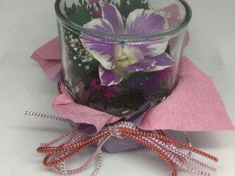 仏花 B  グラスウェアフラワーの画像