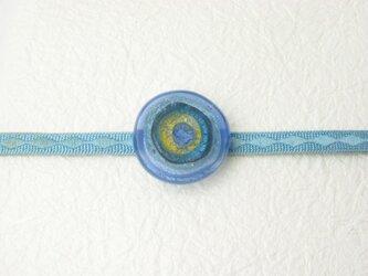 ガラスの帯留め(obi-2)の画像