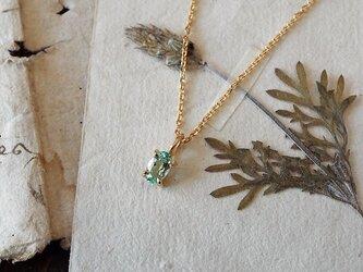 【数量限定】グリーンベリルのネックレスの画像