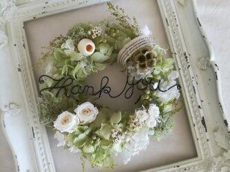 """【送料無料】""""Thank you """"wreathの画像"""